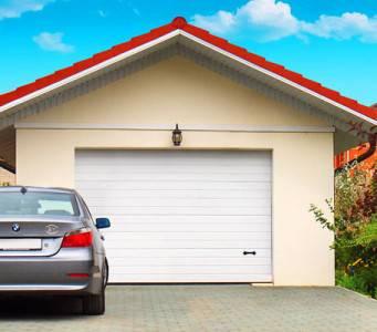 Секционные ворота в гараж: размеры и цены
