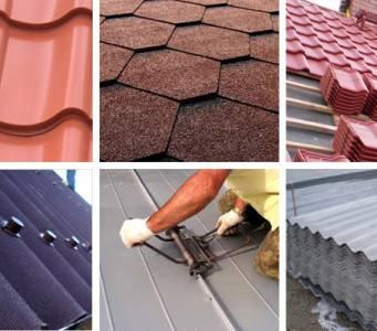 Кровельные материалы для крыши: виды и цены