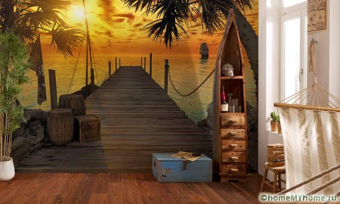 3Д фотообои для стен: фото-каталог