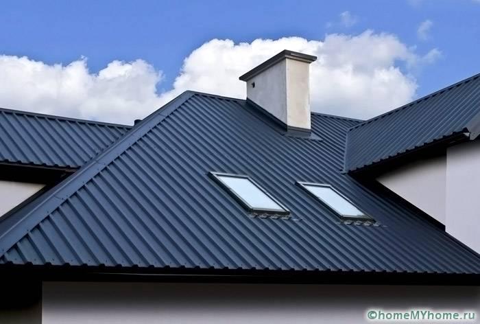 профнастил для крыши: размер листа и цена