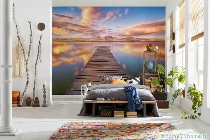 Панорамные изображения позволяют создать ощущение свободы и релаксации