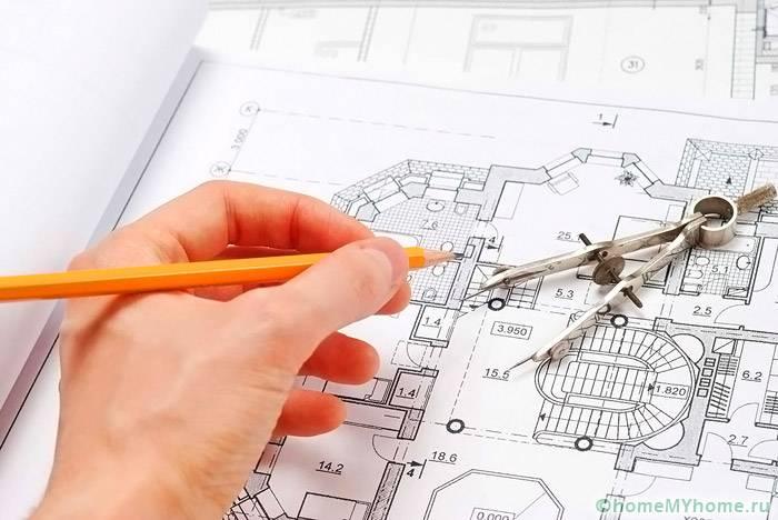 Будущий план квартиры стоит доверить специалисту