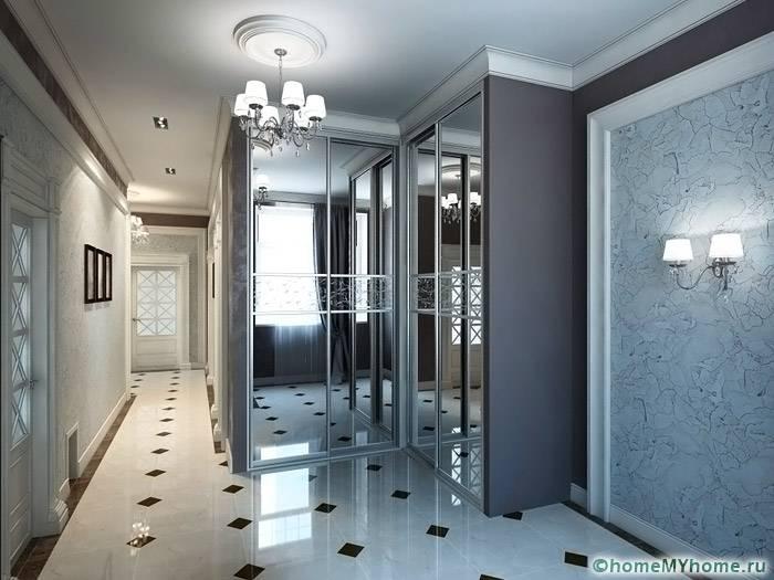 Зеркала позволяют многократно увеличить объем помещения