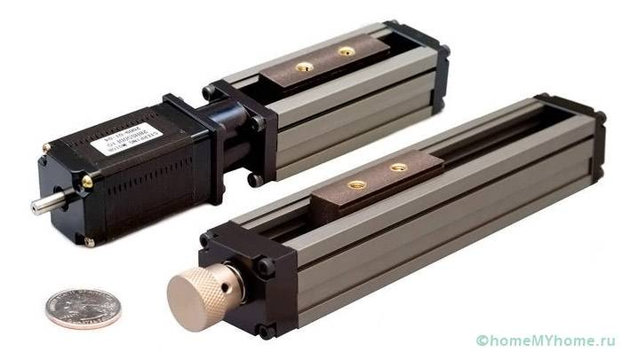 Линейный привод LA31 с миниатюрной коробкой переключателя
