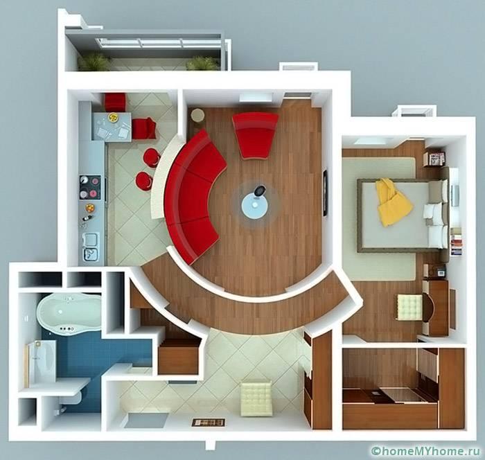 Использование дополнительных помещений хозяйственного значения помогает расширить пространство, а также создать дополнительные места для хранения