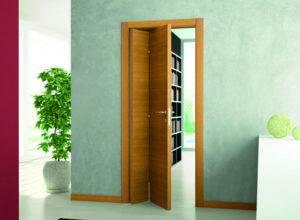 Складная межкомнатная дверь-книжка