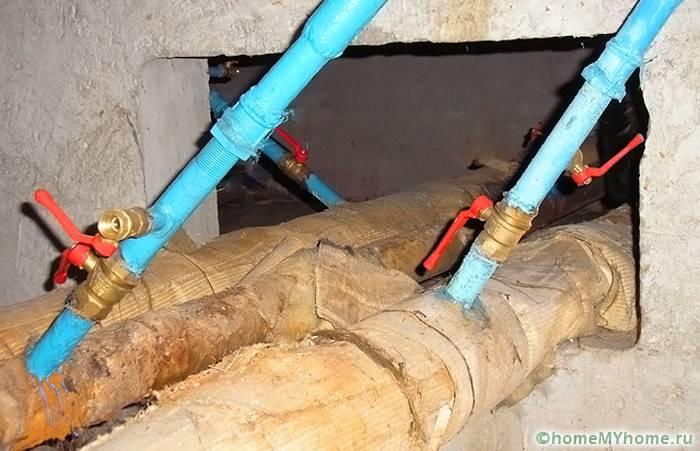 Если общие вентили находятся вне квартиры, надо предотвратить случайное открытие