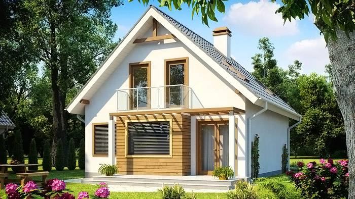 Уютный дом из бруса