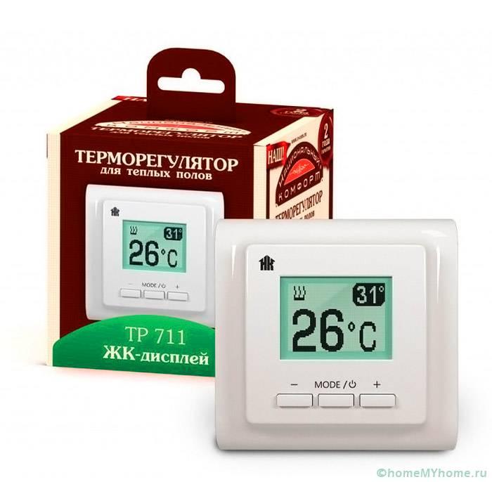 Устройства для теплого пола позволяет поддерживать оптимальный температурный режим в помещении