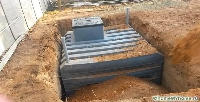 Погреб из пластика – альтернатива традиционным аналогам