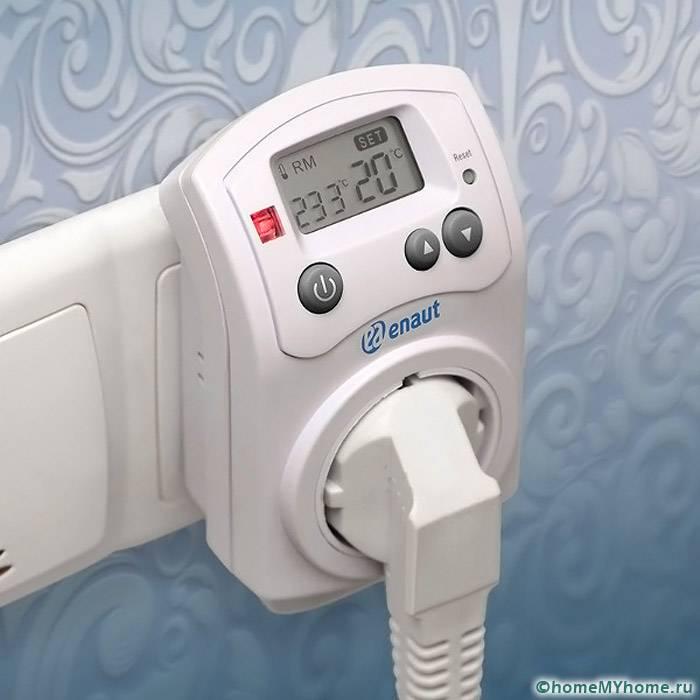 Для инфракрасных устройств применяются термостаты розеточного типа