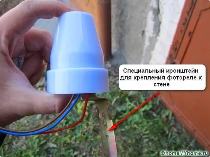 Специальный кронштейн для крепления изделия