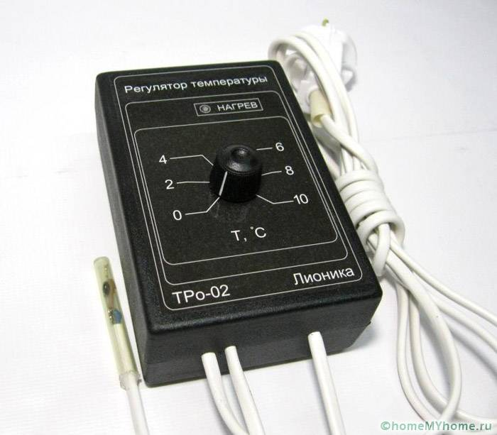 Терморегуляторы с датчиком температуры воздуха своими руками фото 589