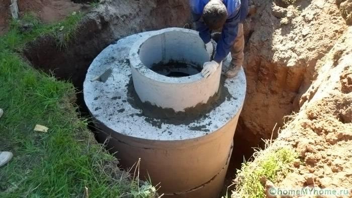 Размеры конструкций из бетонных колец сильно ограничены