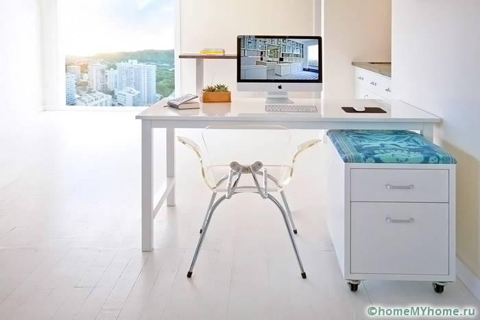 Современное оформление интерьеров превосходно сочетается с мебелью трансформером