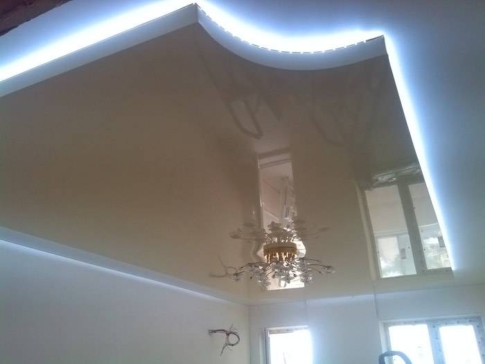 Сложные формы многоуровневого потолка