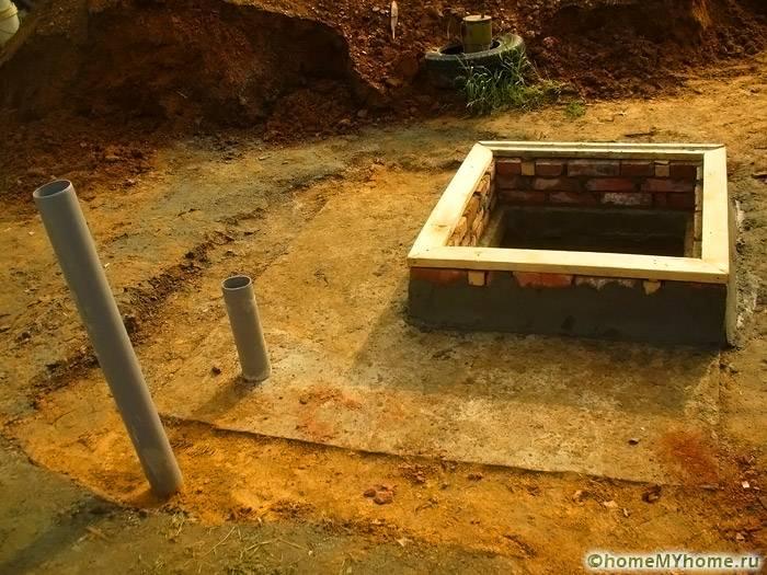 Пример подземного хранилища, расположенного в сухом месте