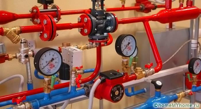 Все элементы системы водоснабжения рассчитаны на определенный уровень давления