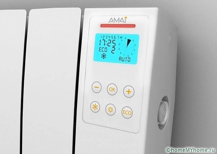 Радиатор отопления с встроенным механизмом