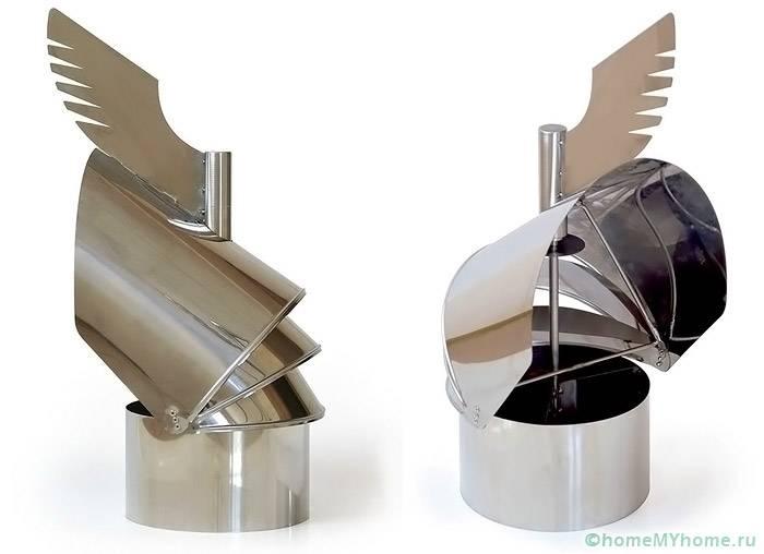 Поворотные колпаки из оцинкованной стали