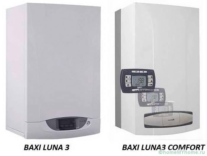 Эталон стиля, надежности и экономичности котлы Baxi серии Luna3