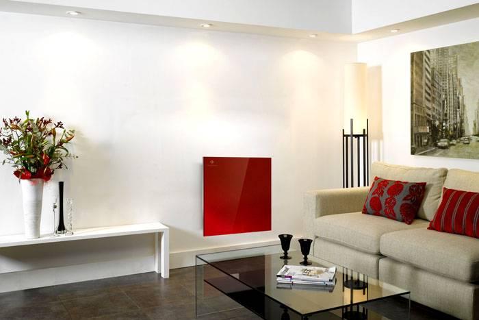 Керамический нагреватель в современном интерьере