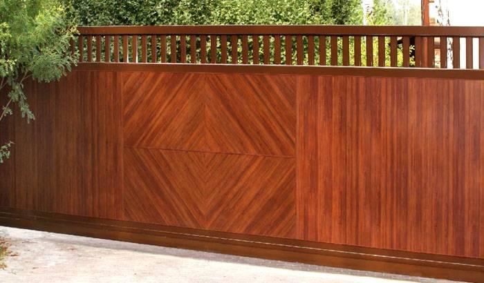 Часто в качестве материала применяется древесина