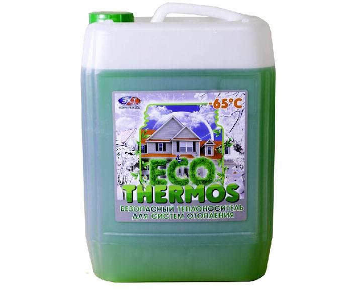 Подобный теплоноситель является экологически чистым и безопасным продуктом