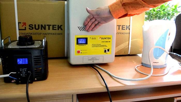 Главное затруднение обычно вызывает подбор мощности стабилизатора для квартиры или дома