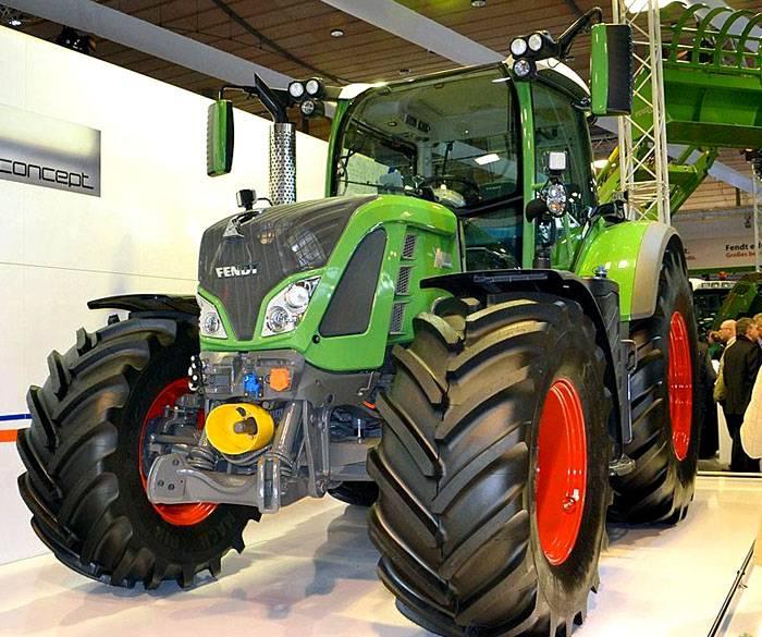 Трактор с электрическим приводом