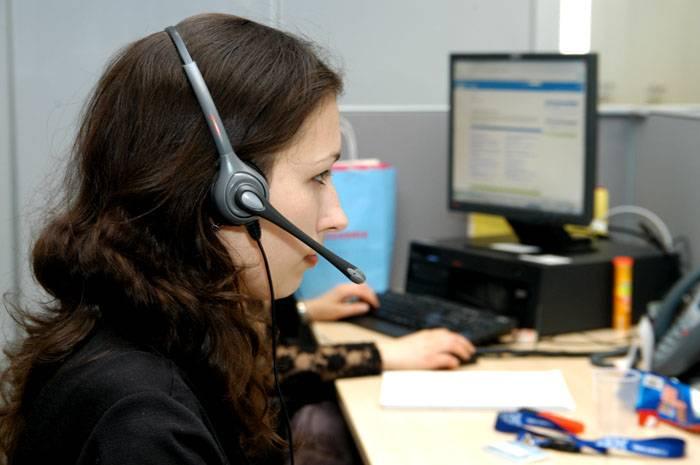 Оператор колл - центра запишет данные счётчика и лицевой счёт плательщика