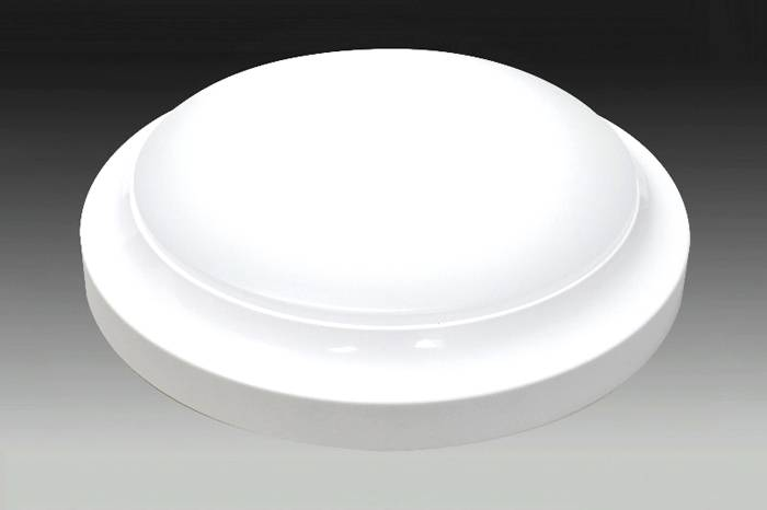 Накладной светильник круглой формы