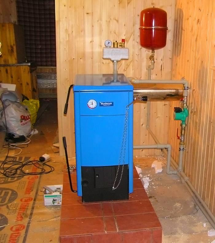 Прибор внедрен в отопительную систему частного дома