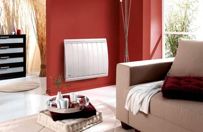 Электрический вариант отопления занимает немного места и отличается современным дизайном