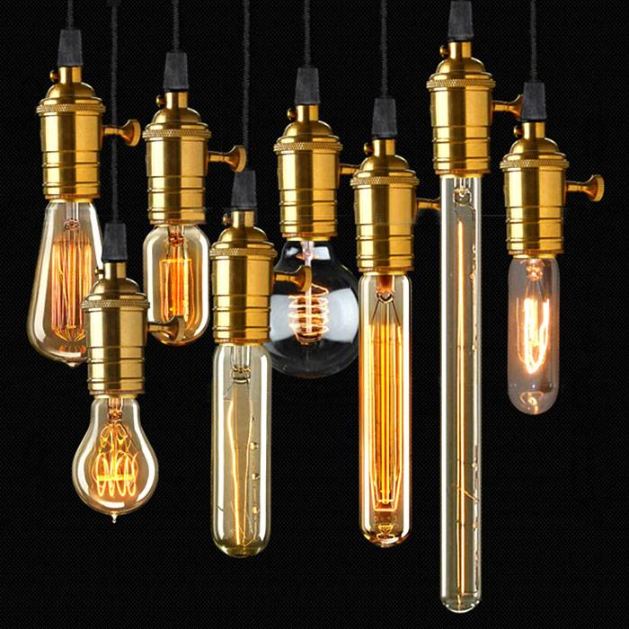 Светодиодная лампа в «ретро» стиле пригодится для оформления соответствующего дизайна