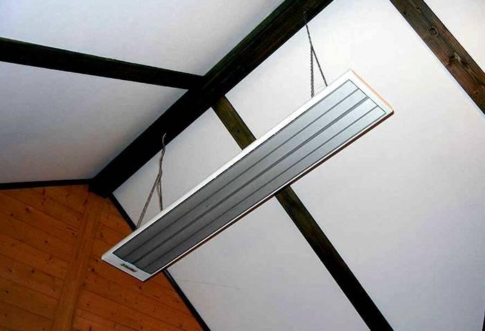 Нейтральный внешний вид современного нагревателя подойдет для рабочих и домашних интерьеров