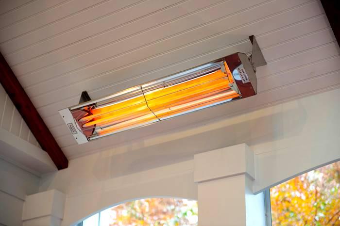 ИК отопители пожаробезопасны, их можно использовать для обогрева домов из дерева