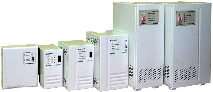 Стабилизационные устройства могут предназначаться для одного электроприбора или для всего дома