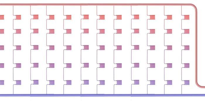Стандартный вариант центрального отопления