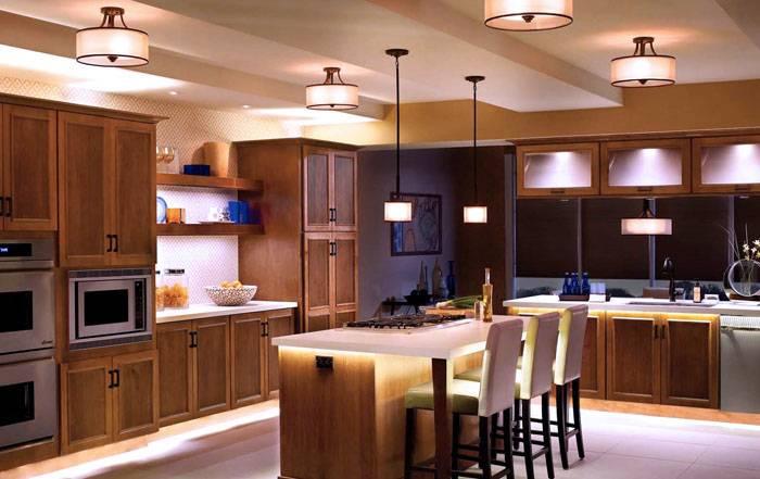 Cветодиодная подсветка для кухни под шкафы