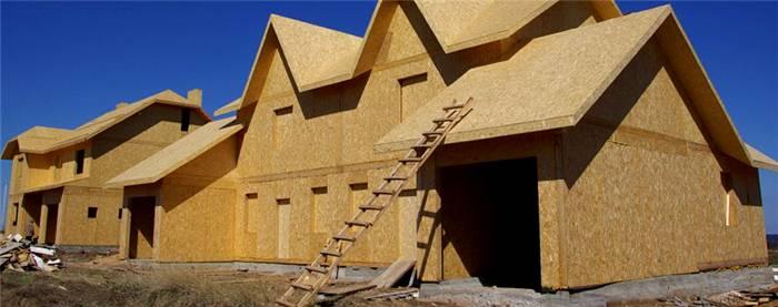 Применение материалов для возведения зданий