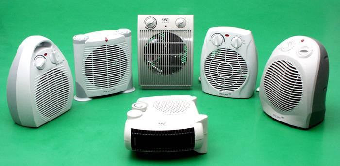 Маленькие тепловые электрообогреватели