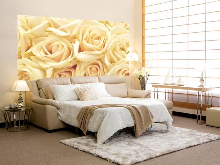 Раскладной диван можно подобрать под любой интерьер