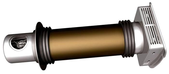 Небольшой бытовой роторный обменник воздуха