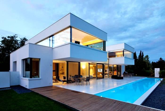 Вариант современного дома