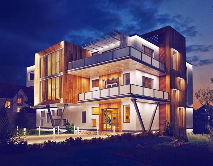 Еще один способ создать ваше жилище необычным и современным