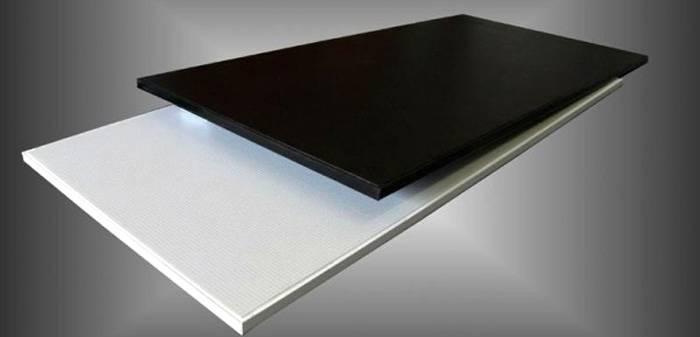 Один из внешних обликов керамических плит для обогрева