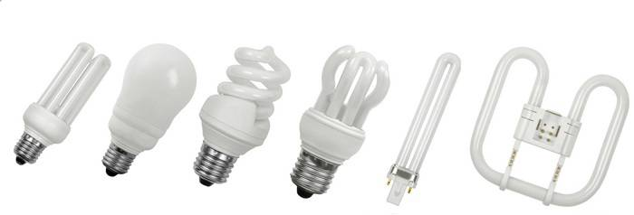 Энергосберегающие устройства могут быть разных форм