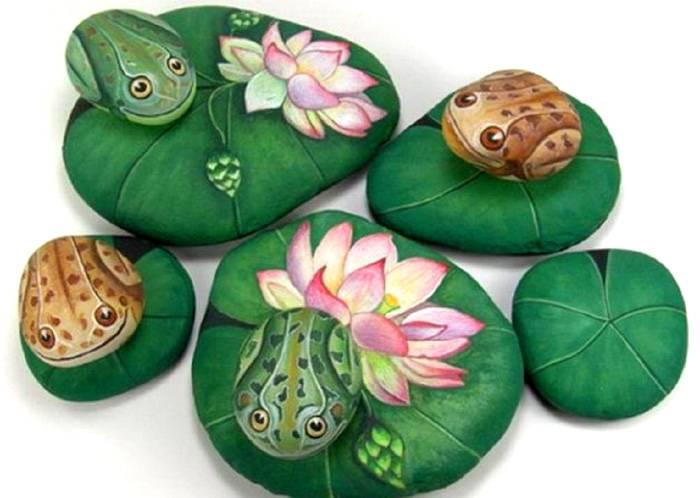 Для камней используются различные варианты дизайнов