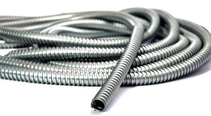 Металлическая защита для электропроводки